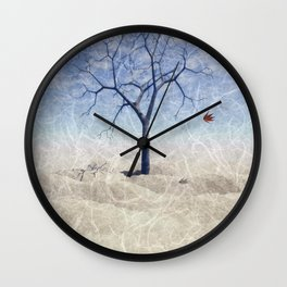 When the last leaf falls Wall Clock