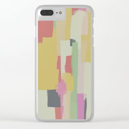 Abstract Painting No. 1 Clear iPhone Case
