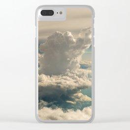 Relaxe nesse espaço... Clear iPhone Case
