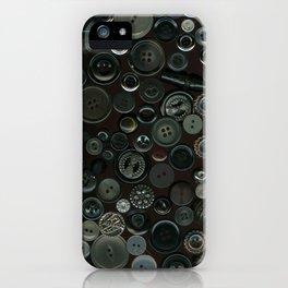 Vintage Buttons iPhone Case