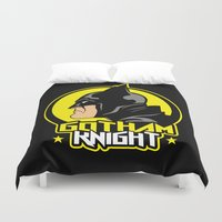 knight Duvet Covers featuring Knight by Buby87