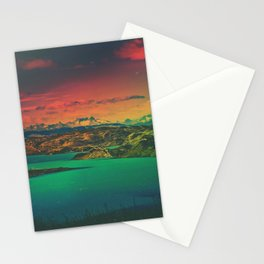 Iridescent Patagonia (Torres del Paine, Patagonia, Chile) Stationery Cards