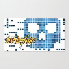 Malware Canvas Print