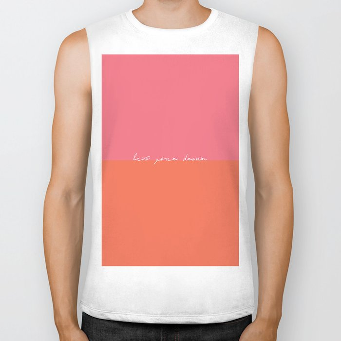 Live Your Dream Biker Tank