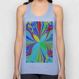 Rainbow Brights Unisex Tank Top