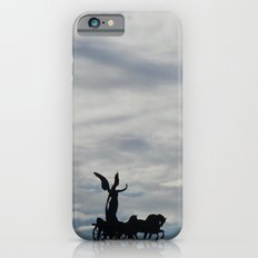 Roman angel and chariot at sunset iPhone 6s Slim Case
