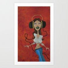 vibin' Art Print