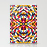 stained glass Stationery Cards featuring Stained Glass by Danny Ivan
