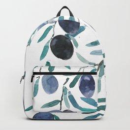 black olive watercolor 2018 Backpack