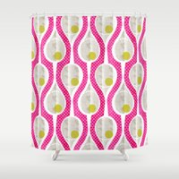 tennis Shower Curtains featuring tennis by ottomanbrim