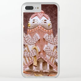 Hate/Love Clear iPhone Case