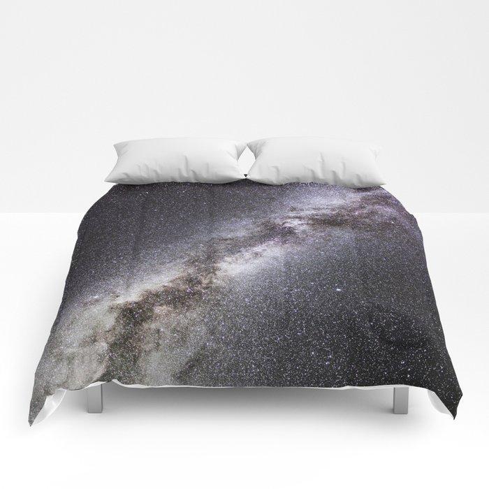 Barred Spiral Galaxy Comforters