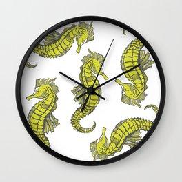 Sea-life Collection - Seahorse Wall Clock
