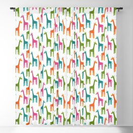 Giraffes Blackout Curtain