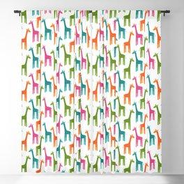 Giraffes Blackout Curtain