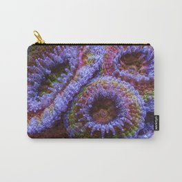 Coral Acanthastrea Lordhowensis Rainbow Carry-All Pouch