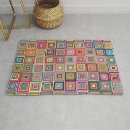 Retro Squares Rug