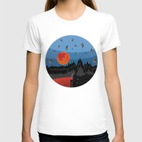 budapest T-shirts featuring Budapest Super Moon by Andras Wobe Kocsis