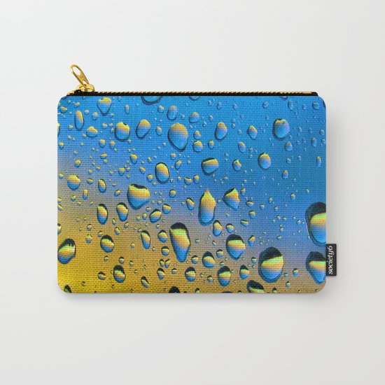 The Rain Watching the Sun Carry-All Pouch
