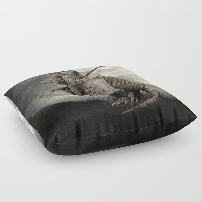 Armadillo by Eric Fan & Viviana González Floor Pillow