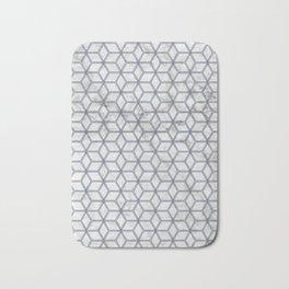 Hive Mind - Marble Navy #381 Bath Mat