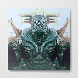 Romulus Black Metal Print