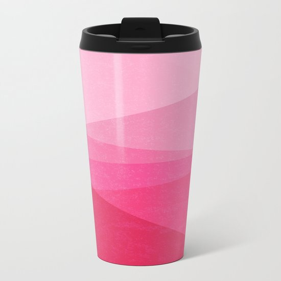 Stripe XI Cotton Candy Metal Travel Mug