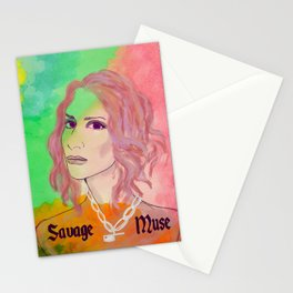 SAVAGE MUSE: LEILA Stationery Cards
