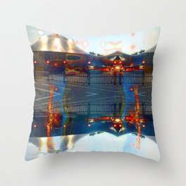 Akin to recalling, instead; understood mimicry. [extra] Throw Pillow