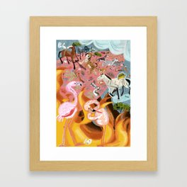 Paradise before the fire (SGHN) Framed Art Print