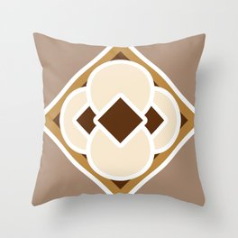 Smore and Hot Chocolate Throw Pillow