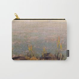Canyon Scene with Aloes landscape painting by J.H. Pierneef Carry-All Pouch