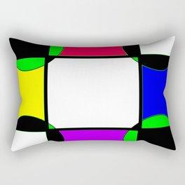 Block color Rectangular Pillow
