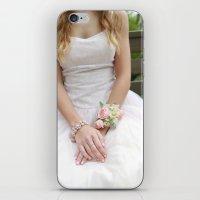 dress iPhone & iPod Skins featuring Dress by Naya Joyce