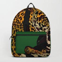 Hipster Cheetah Backpack