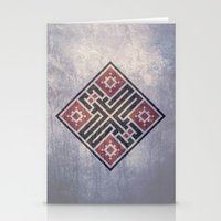 calligraphy Stationery Cards featuring Arabic Calligraphy by MSH1948