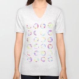 Pastell Dots Unisex V-Neck