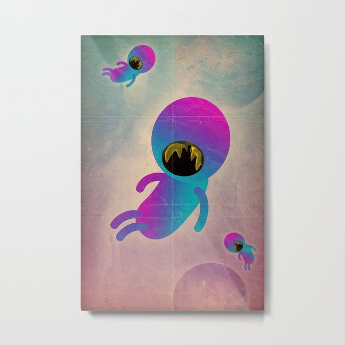 bimbo cosmico Metal Print