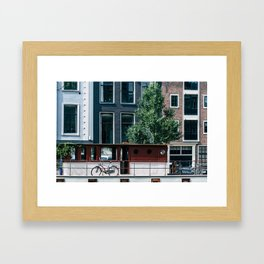 A Day in Amsterdam Framed Art Print