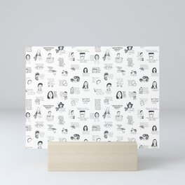 Gilmore Girls quotes Mini Art Print