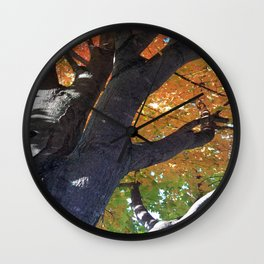 October Speaks Louder Than Other Months Wall Clock