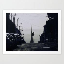 King Kong Rouen Art Print