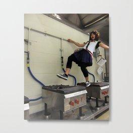 Fun In Dye Metal Print
