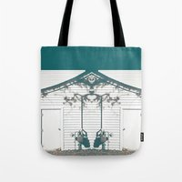 rorschach Tote Bags featuring rorschach by made 2 take