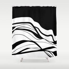Black & white / minimalist Shower Curtain