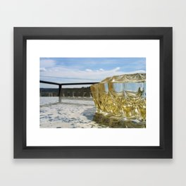 Skyglass Framed Art Print