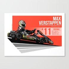 Max Verstappen - 2011 Portimao Canvas Print