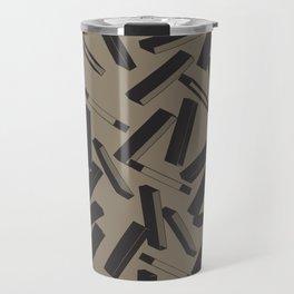 3D X Pattern Travel Mug