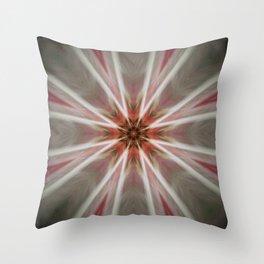 Bright Light MANDALA Throw Pillow