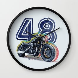 Harley 48 Wall Clock